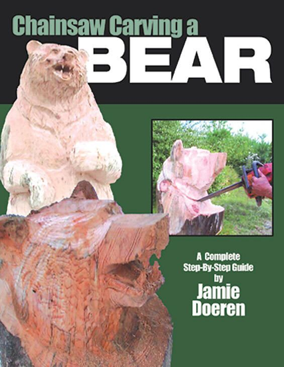 chainsaw carving a bear a complete step by step guide by. Black Bedroom Furniture Sets. Home Design Ideas