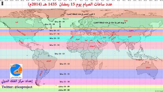 أخبار الأردن عدد ساعات الصيام خلال رمضان في الاردن أخبار الأردن Islam Vrai