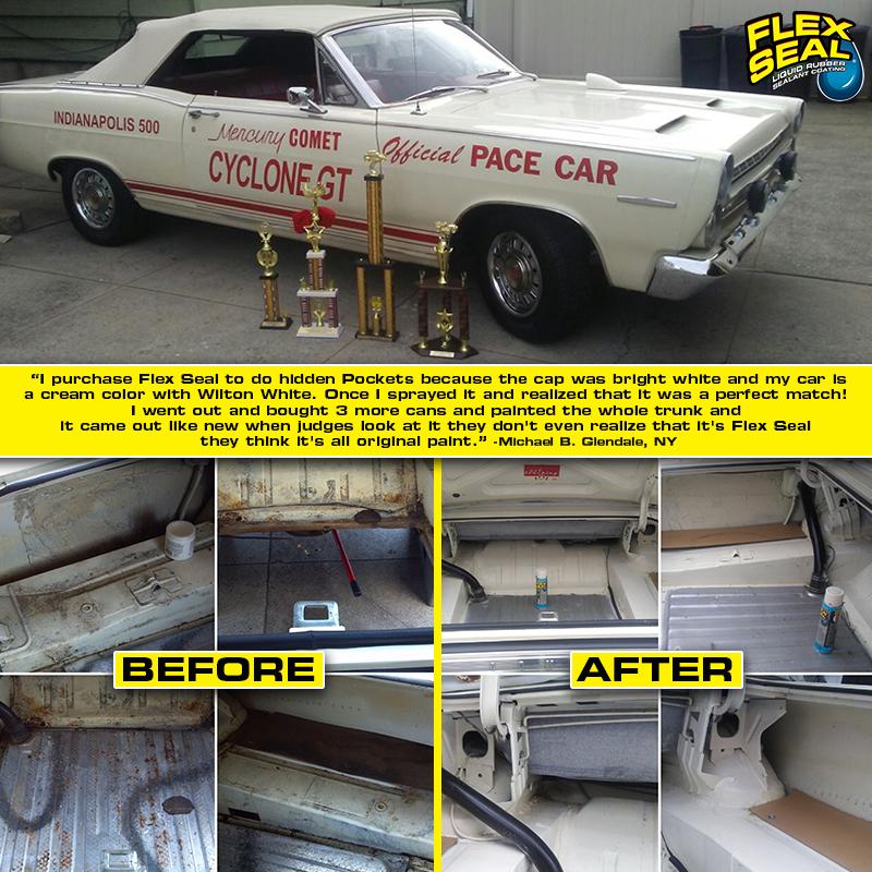 Flex seal spray Best car interior, Truck bed liner, Diy