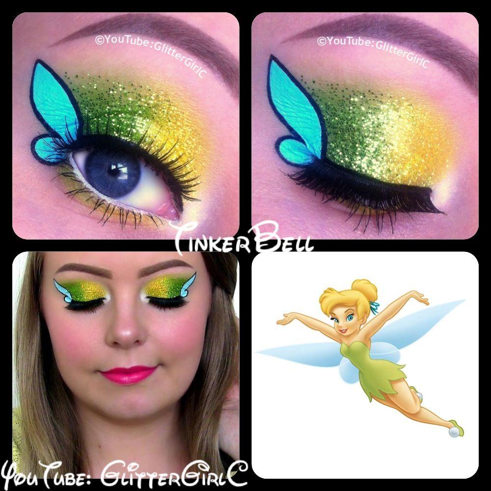Tinkerbell Makeup Tutorial Makeup Geek Tinkerbell Makeup Halloween Eye Makeup Disney Eye Makeup