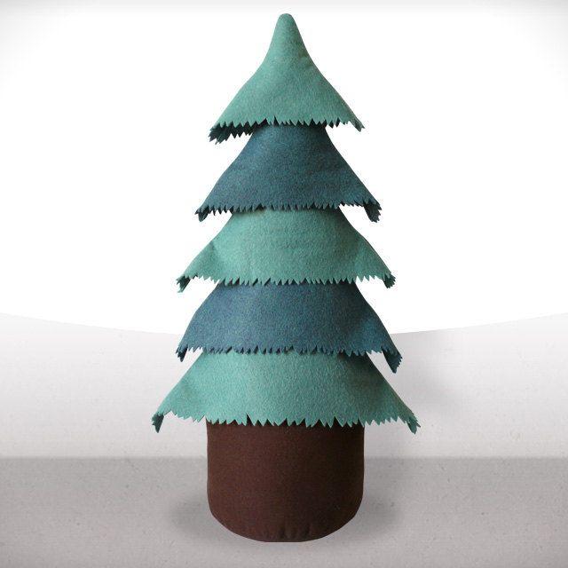Christmas tree - Little interior tree - Blue Green - Free tracking shipping. $88.00, via Etsy.