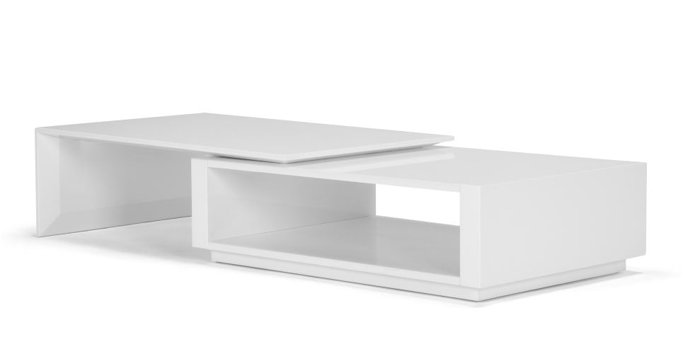 White Coffee Table On Wayfair Commercial