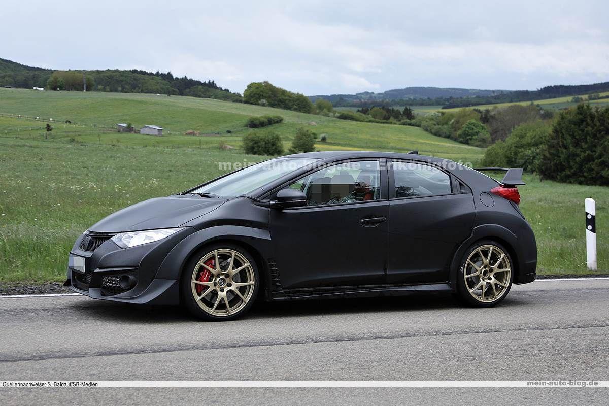 Erwischt: Honda Civic Type-R – ungetarnt! › Mein Auto Blog