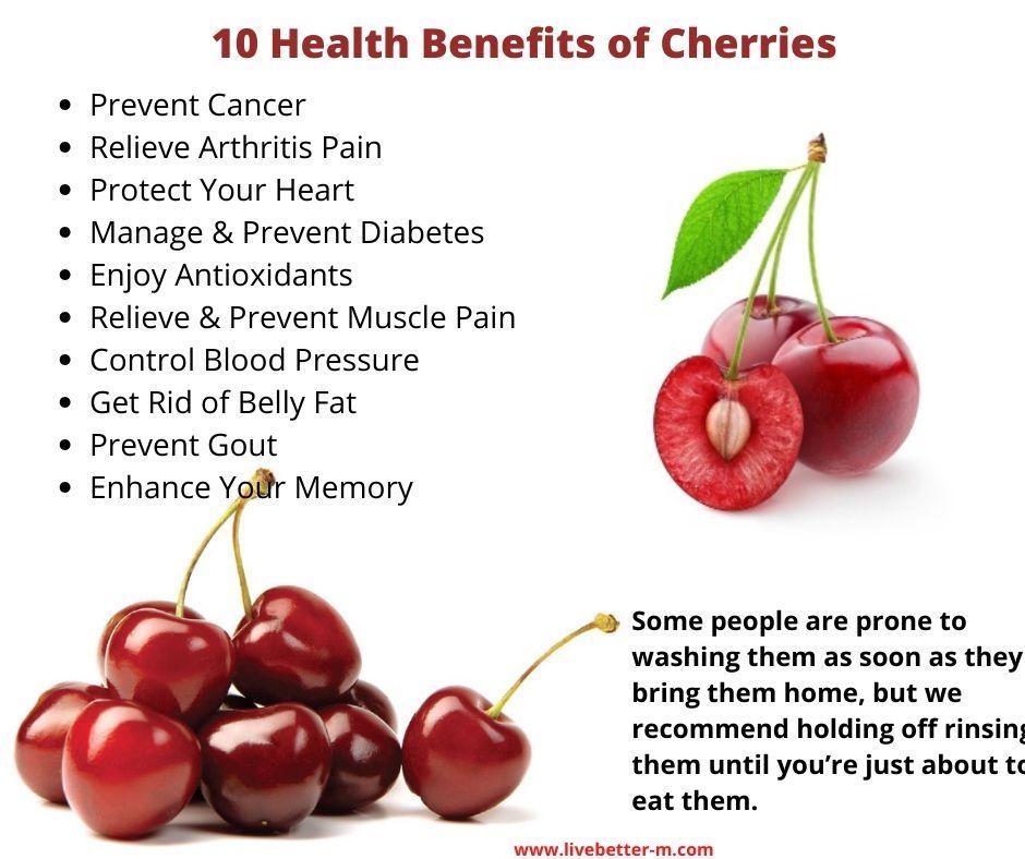 cherries and diabetes diet