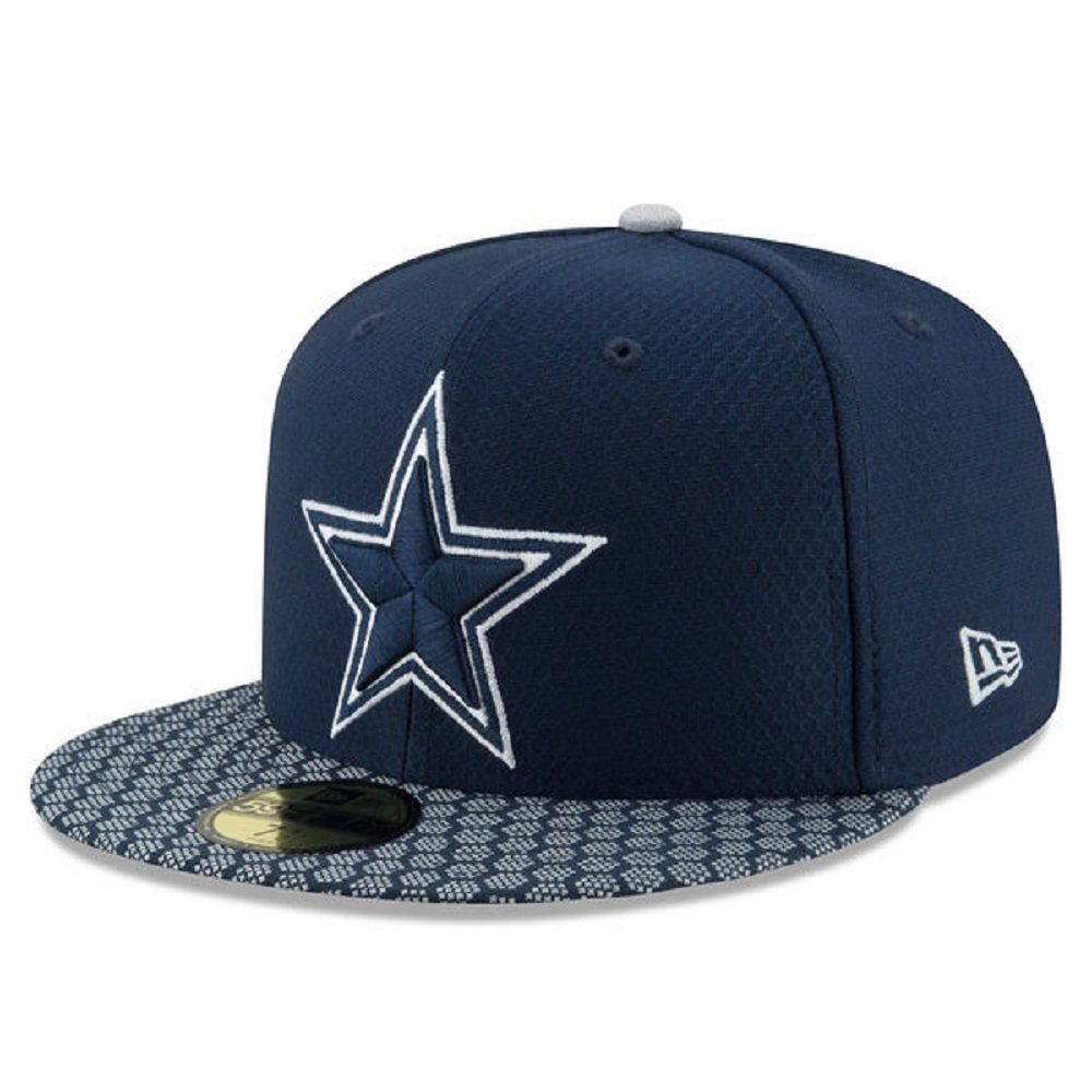 DALLAS COWBOYS New Era 59FIFTY ON FIELD Sideline FITTED CAP 37dfd43cb9aa
