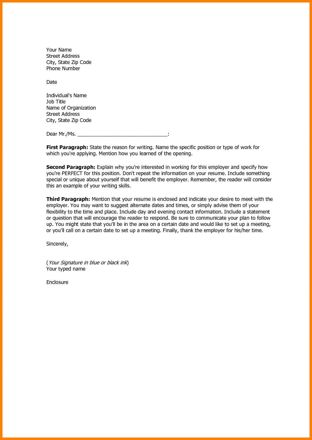 25 Basic Cover Letter 17 Sample Zasvobodu Resume Templates Design