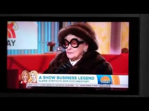 Elaine Stritch says F*ck on Today Show