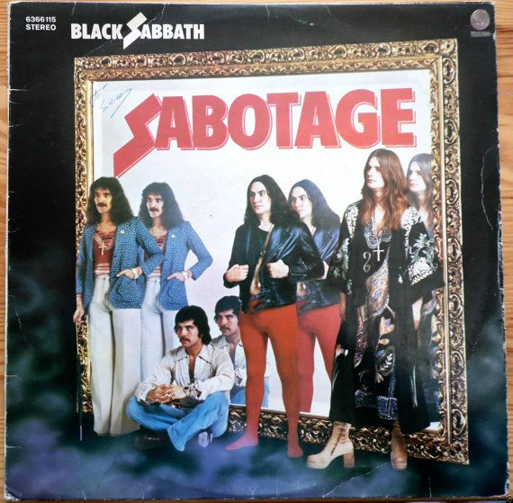 Black Sabbath Sabotage 1975 Portugal Issue Rare Vinyl Lp Album 33 Rock Prog Metal 70s 6366115 Free S H Sabotage