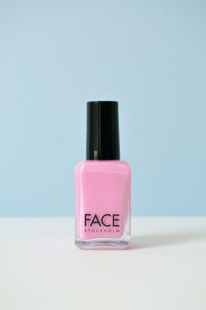 Soft Baby Pink Nail Polish \'Cottan Candy\' by FACE Stockholm in a non ...