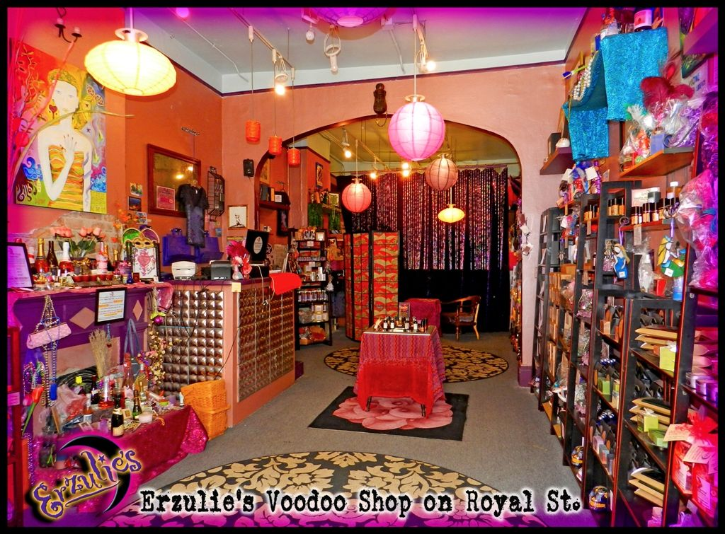 Come visit us ~ Erzulie's Voodoo Shop in the French ...