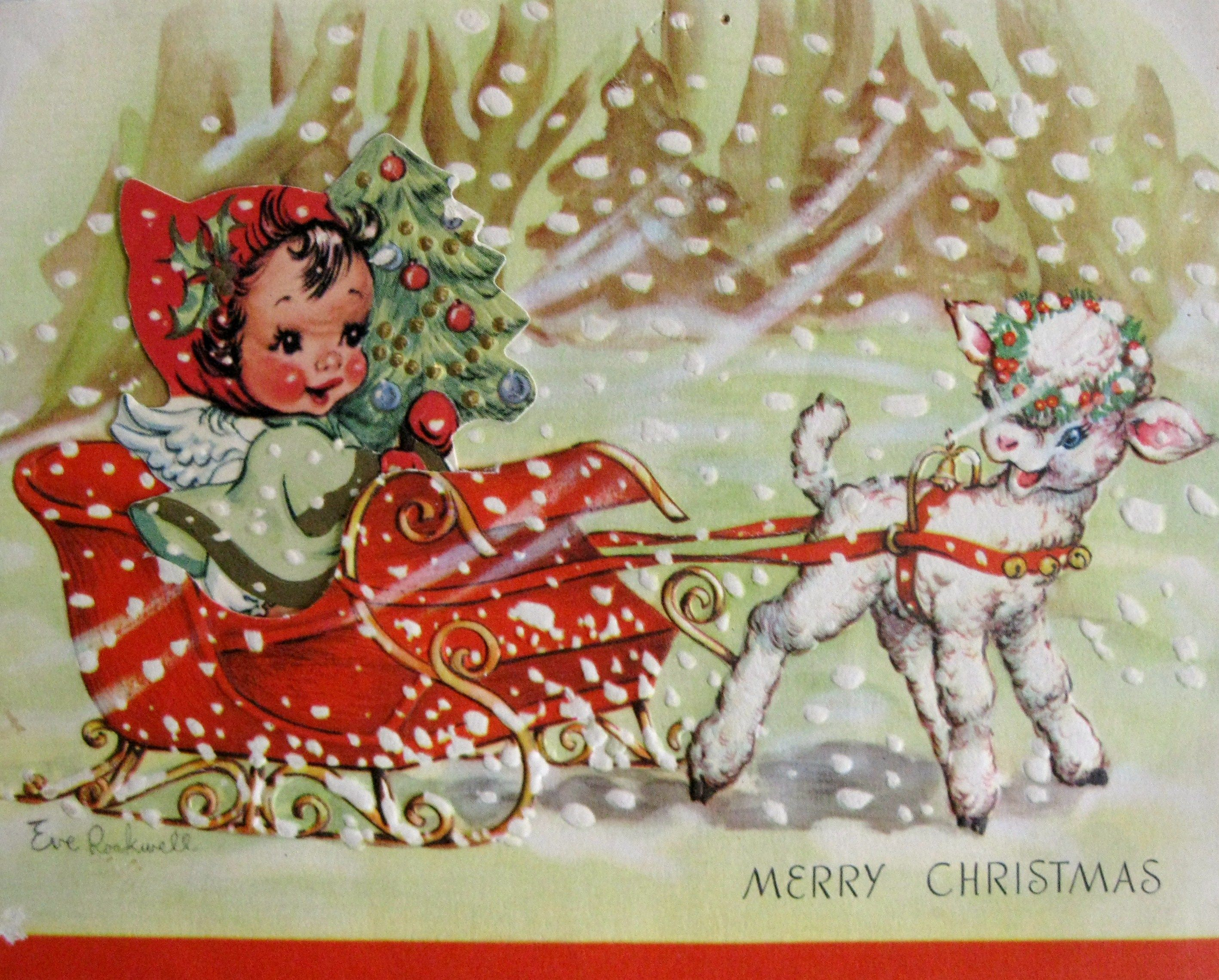 770 best vintage greeting cards images on pinterest christmas vintage christmas card kristyandbryce Choice Image