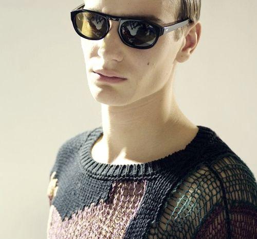 Ben Allen | Dries Van Noten Menswear SS 2013 Backstage knitwear