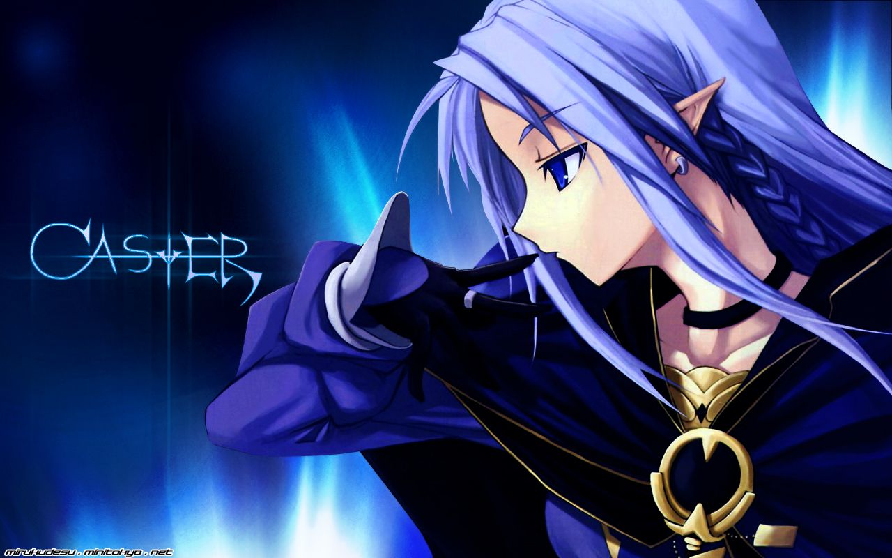 Type Moon Fate Stay Night Caster Fate Stay Night Wallpaper Anime