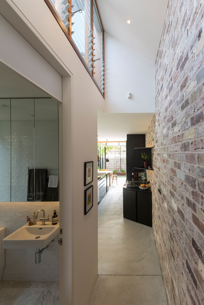 Gallery of down size up house carterwilliamson architects also best images architect design rh pinterest