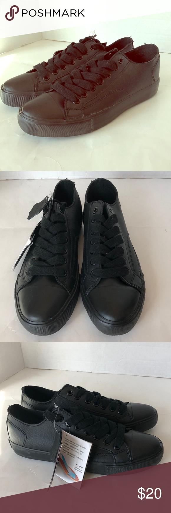 7e97e3fcae9 Safe T Step black tennis slip resistant work shoe Safe T Step black tennis  slip resistant