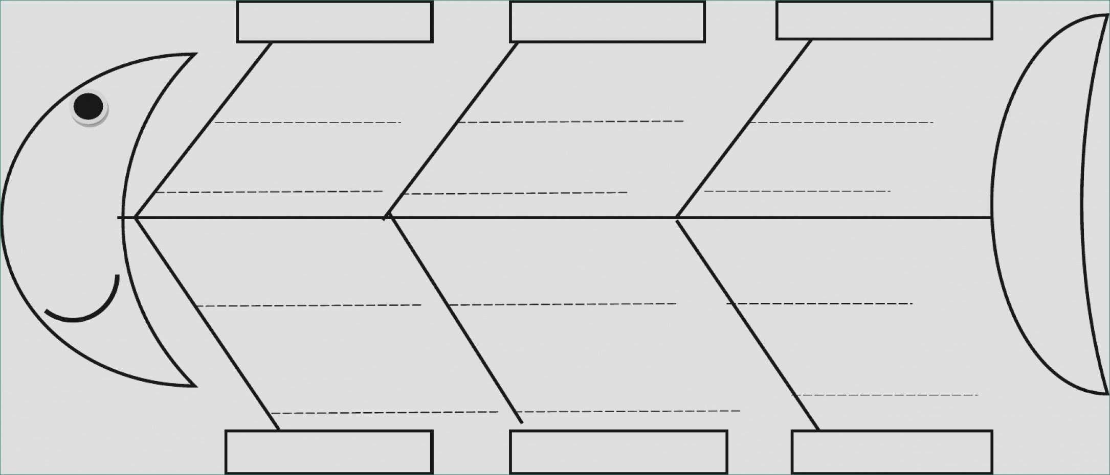 28 Blank Fishbone Diagram Template in 2020 | Doctors note ...