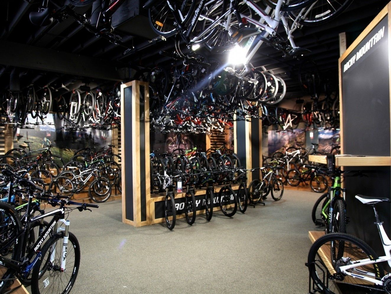 Rocky Mountain Concept Area Rocky Mountains Bike Store Bike Shop