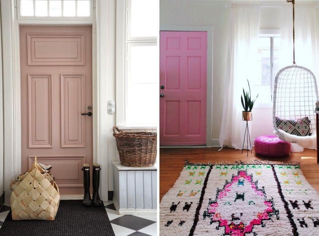 6 id es pour d corer une porte maison decoration porte. Black Bedroom Furniture Sets. Home Design Ideas