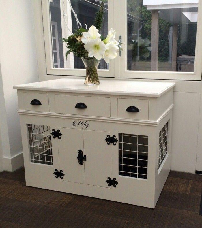 Mooie landelijke honden bench te koop voor 350 in 2 maten verkrijgbaar hond pinterest - Onze mooie ideeen ...