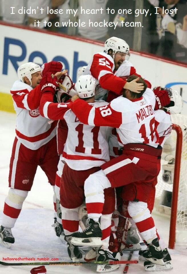 The Red Wings have my heart