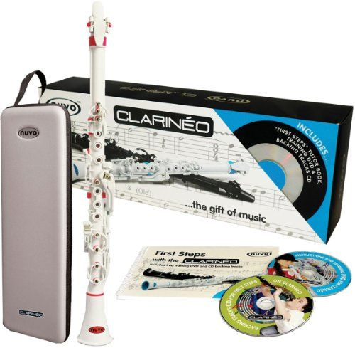 Clarineo CLAR-WPK-ST – Clarinete con estuche -  http://tienda.casuarios.com/clarineo-clar-wpk-st-clarinete-con-estuche/