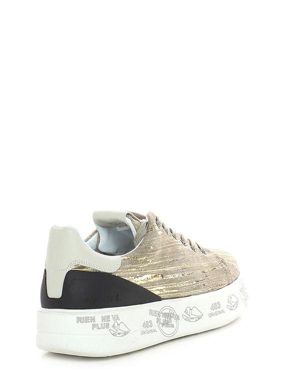 26d1757f0 Sneaker 3713 taupe/gold Premiata in 2019 | Footwear - casual ...