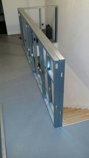 Rambarde Placo Balustrade Escalier Placo Garde Corps Mezzanine