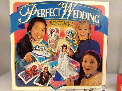 Perfect Wedding Board Game Very RARE Cadaco 1993 Planning ...