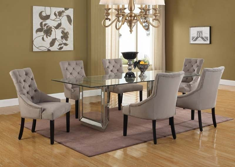Pleasing Mariano Furniture Nicolette 96 5 Piece Dining Table Set Onthecornerstone Fun Painted Chair Ideas Images Onthecornerstoneorg