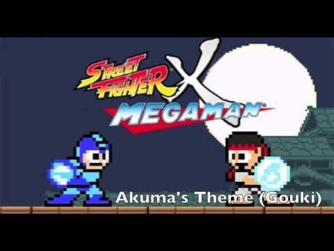 Music Monday - Street Fighter x Mega Man OST: Akuma's Theme