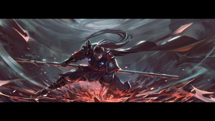 Download Xin Zhao League Of Legends Game Art 1920x1080 League Of