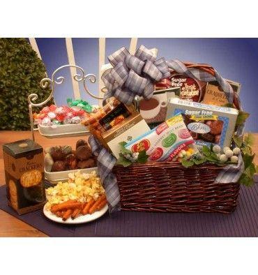 Sugar free gift basket gift baskets homemade pinterest sugar free gift basket negle Images