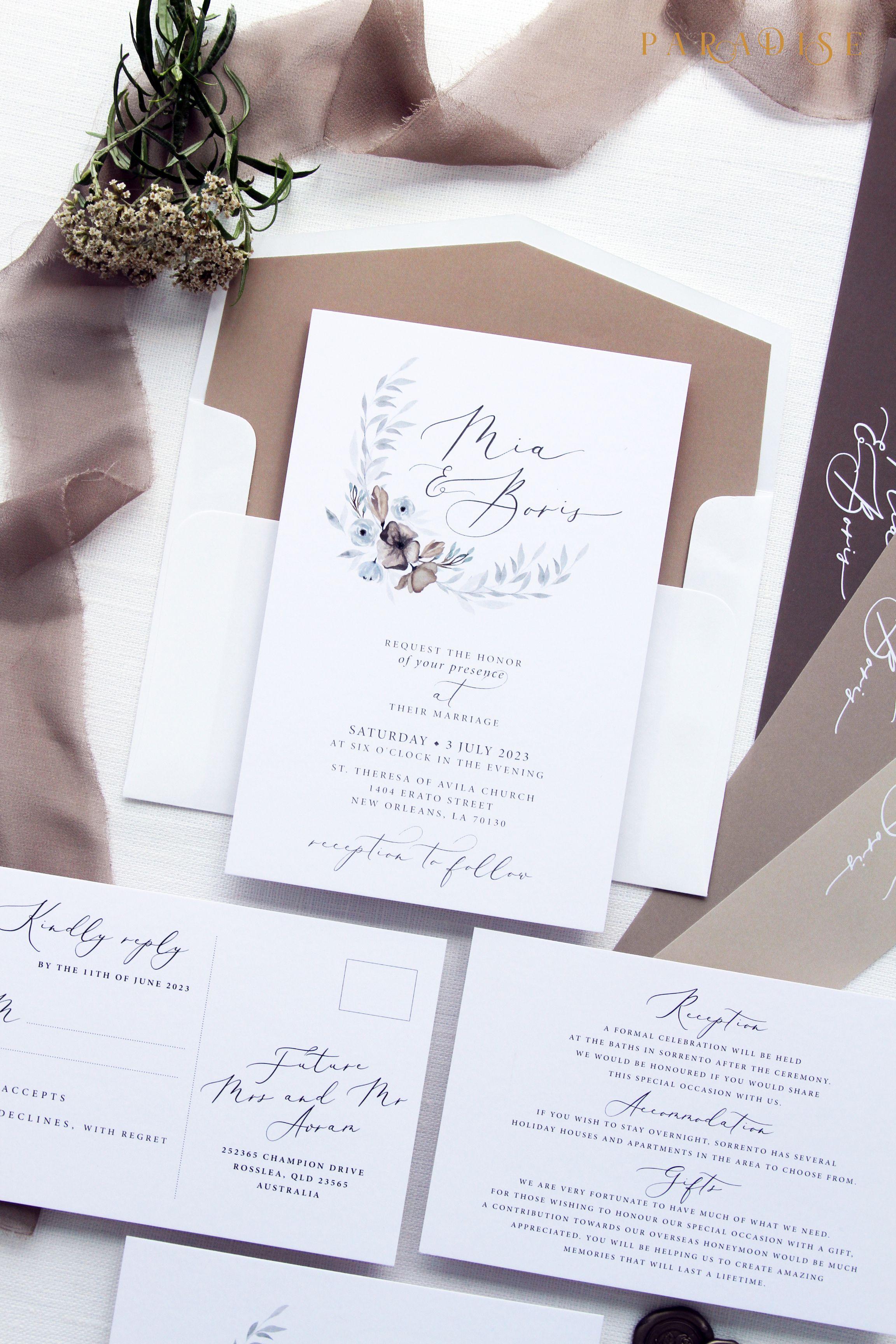weddinginvitation #weddings #bride #weddingstationery ...