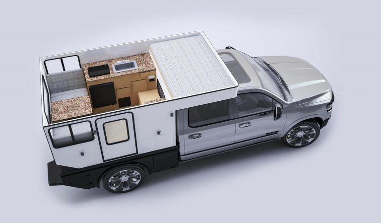 Pop Up Truck Campers Mid Size Trucks Long Bed Four Wheel