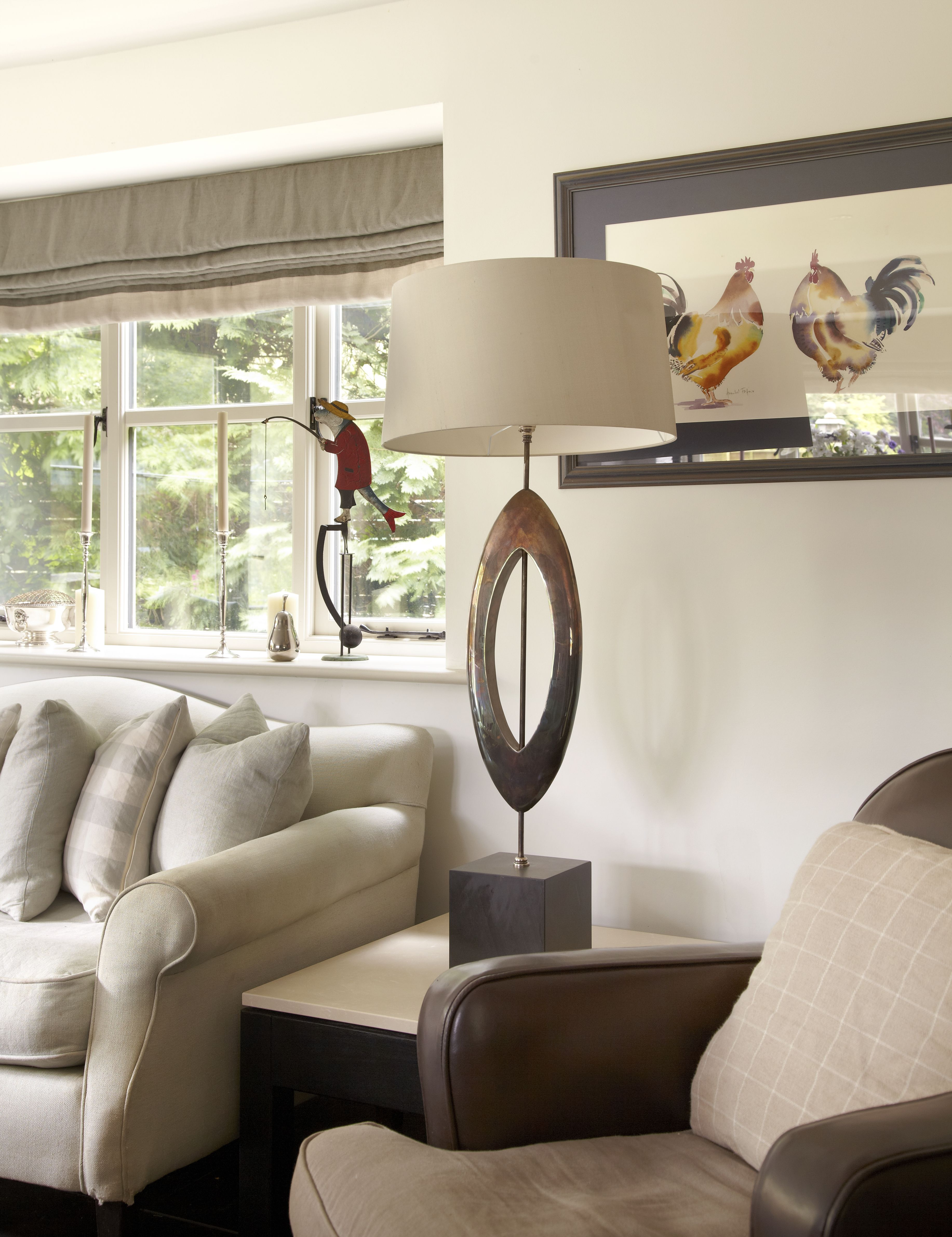 Manhattan Table Lamp By Porta Romana Interior Design Stephanie Dunning At Dorset Country Cottage