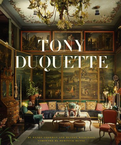 Tony Ducette is one of my design Icons. His artists background and his work for the theater and movies brings a very different sensibility to his projects.