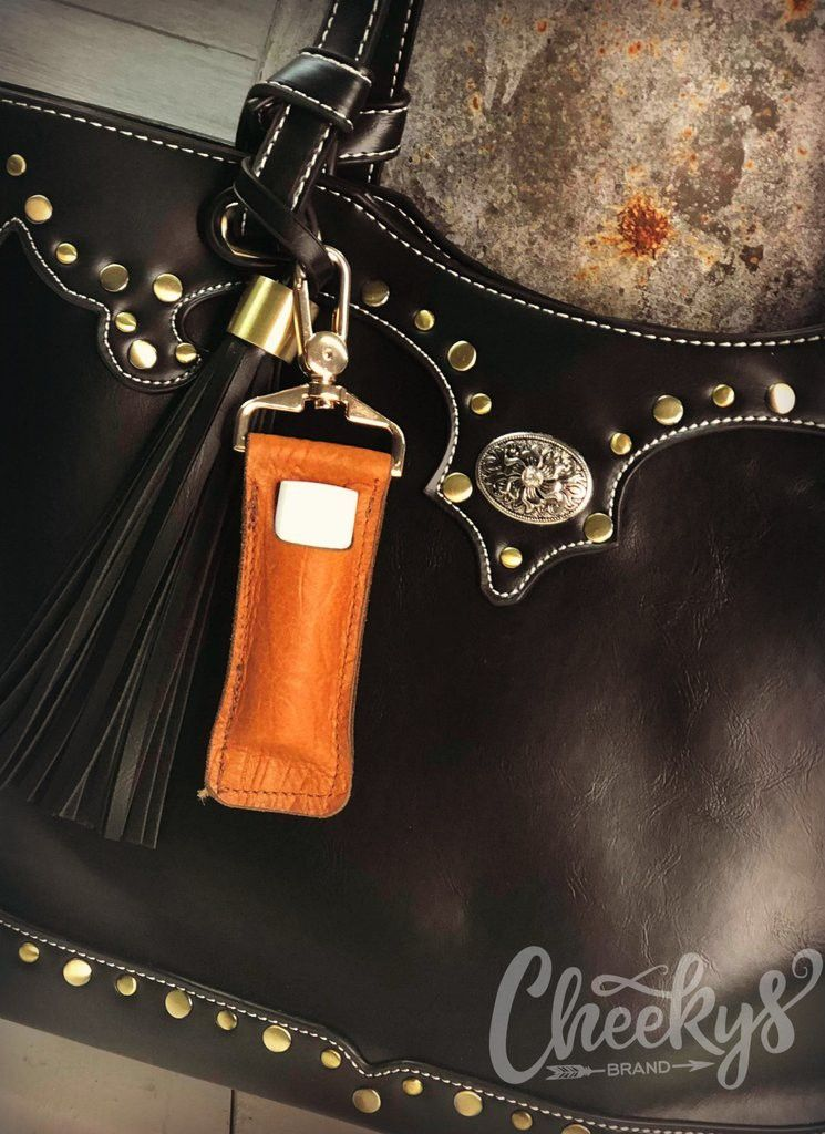 e7a4b10cd320 #HuntingHunnies are always prepared. Whether keeping a sassy leather  chapstick holder, or extra lures, they have what you need. #CoreChicks  #CheekysChicks # ...