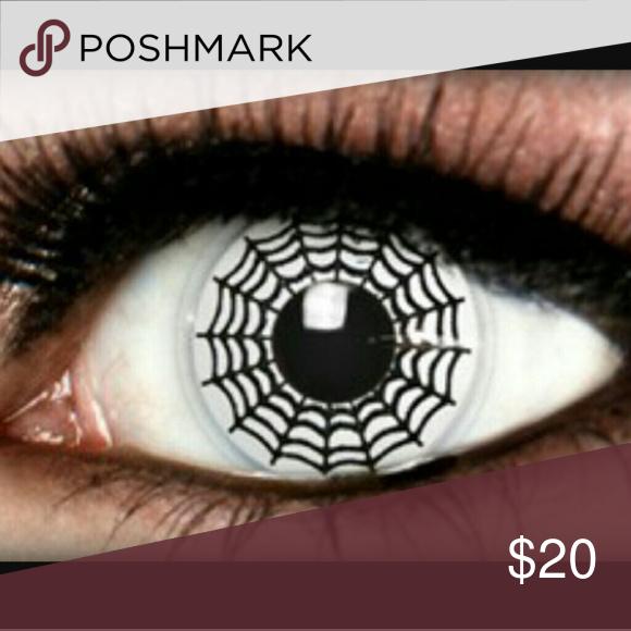 black spider web cosplay crazy contact lenses non prescription
