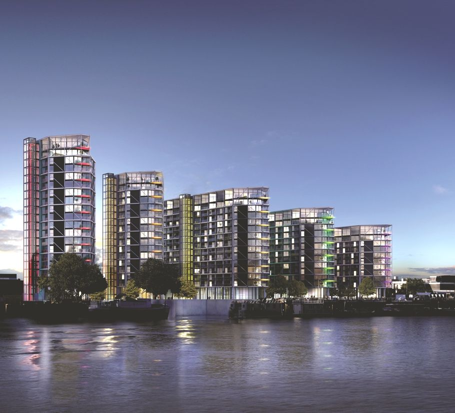 Riverfront Apartments: Exclusive Riverfront Riverlight Scheme, England (With