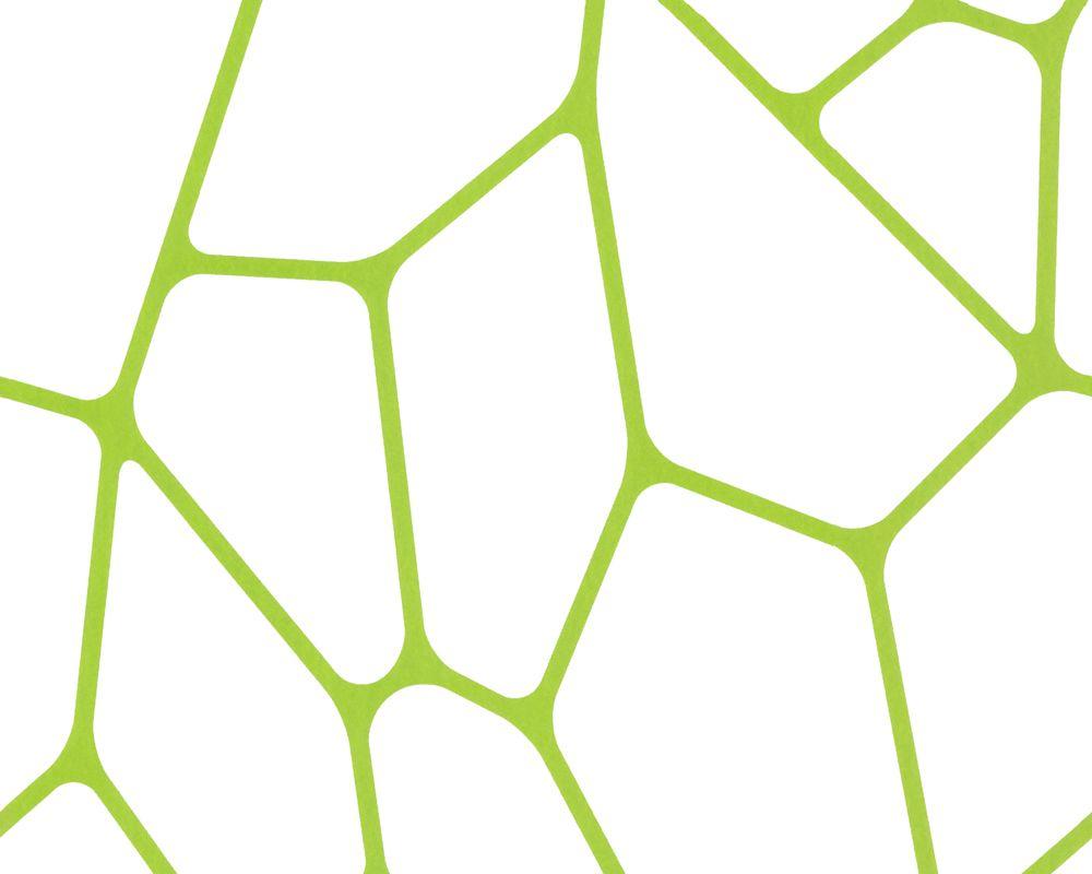 Tapetenmuster modern grün  Lars Contzen Vlies-Tapete 255228: Farbe Grün, Weiß; Dekor ...