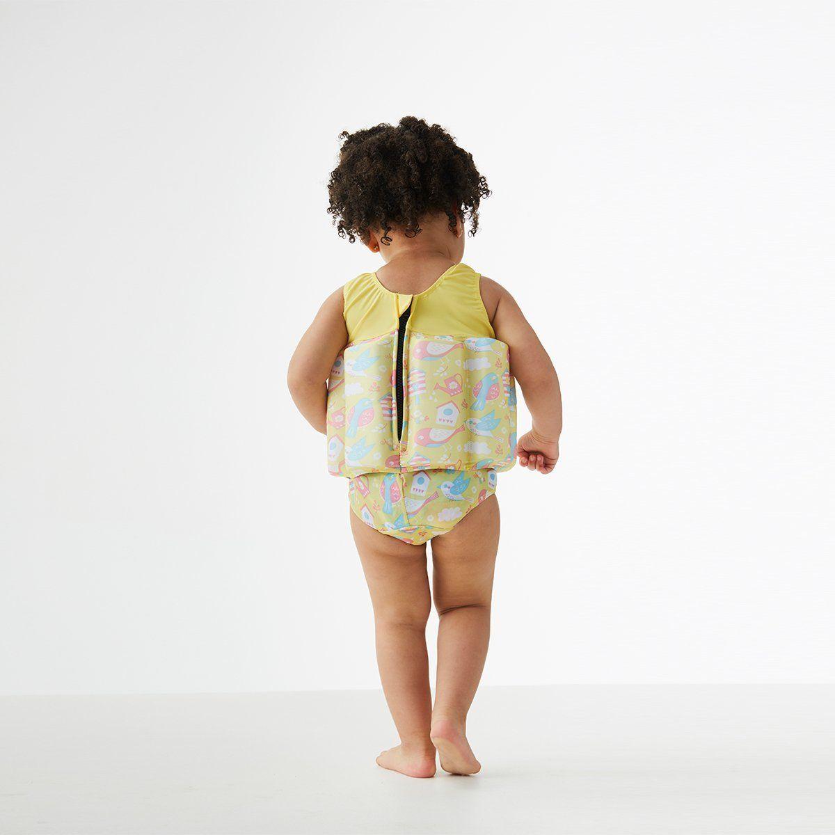 Navy /& White Stripe Splash About Float Suit with Adjustable Buoyancy Swimwear