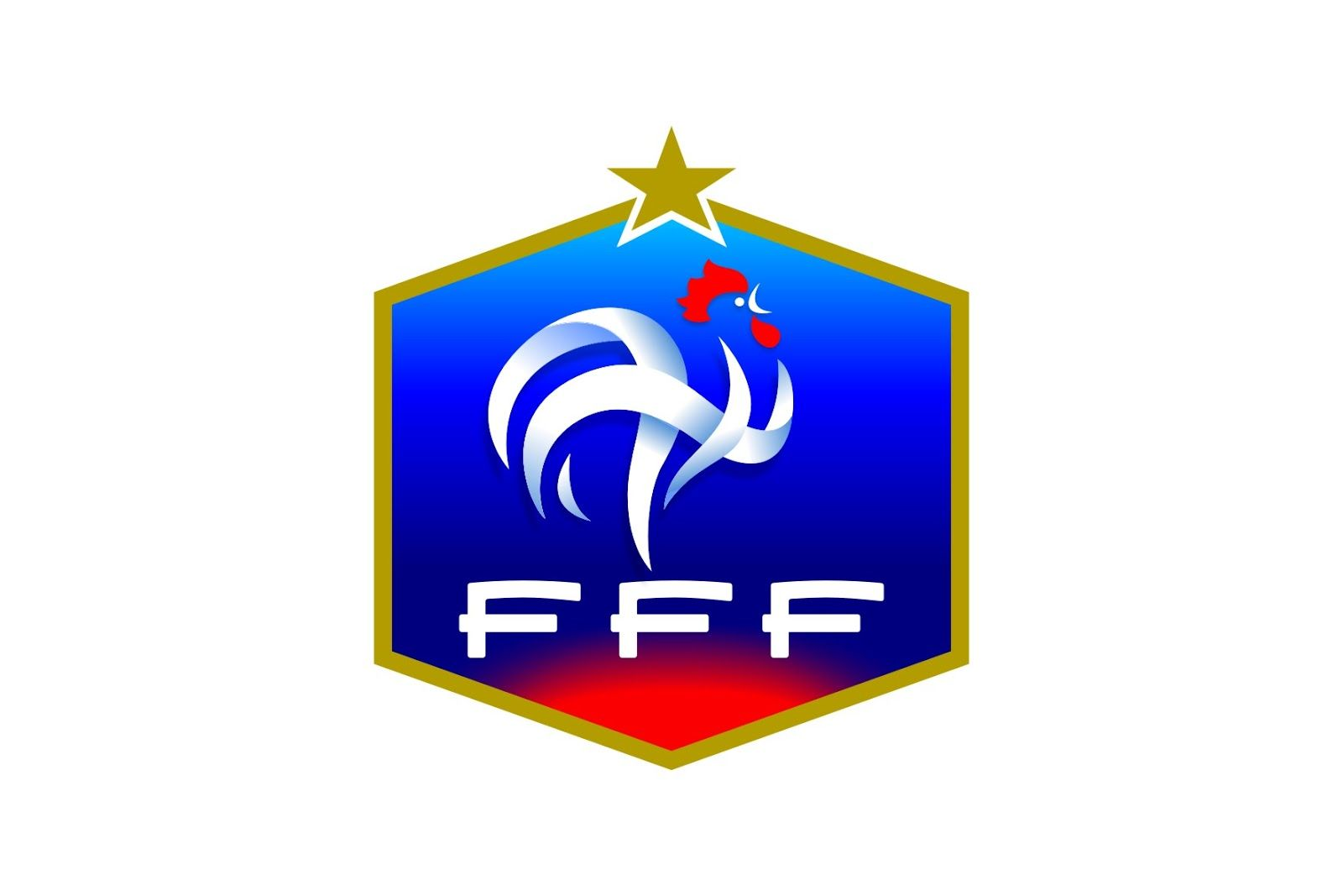 French football federation france national team logo symbols le nouveau logo fff france national football team wikipedia the free encyclopedia biocorpaavc Choice Image