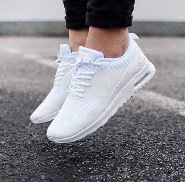 Nike Air Max Chaussure Blanc Thea