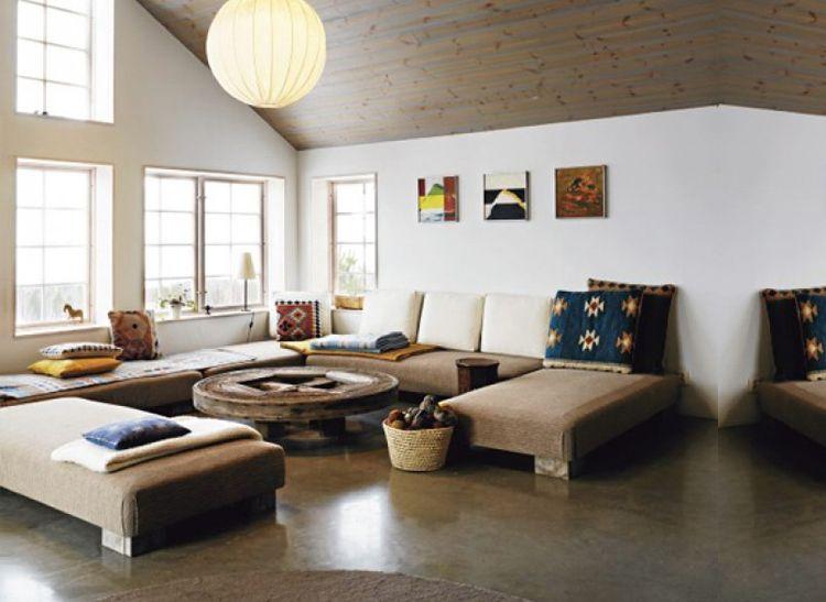 Rust vinden in uw woonkamer met een rustgevende inrichting ...