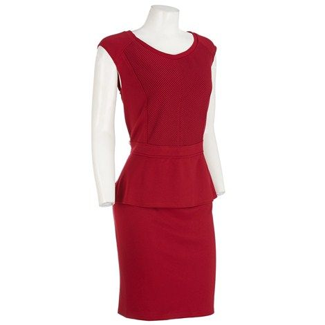 peplum dress burlington
