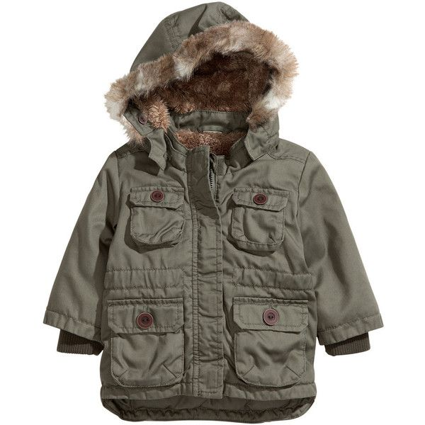 5a98d6d69 Parka - from H M ( 30) ❤ liked on Polyvore featuring outerwear ...