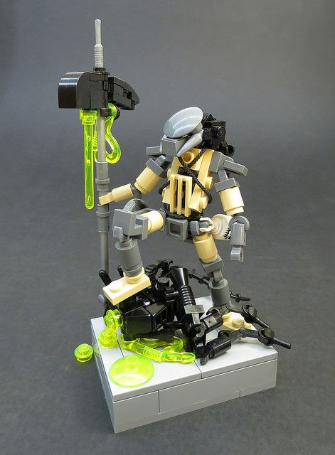 Alien Vs Predator Lego Pinterest Lego Lego Creations And