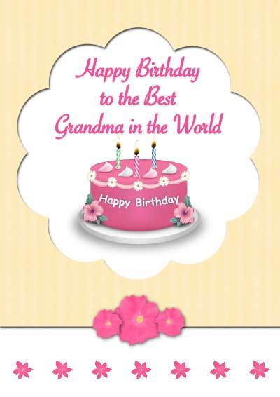 Lucrative image with regard to printable birthday cards for grandma