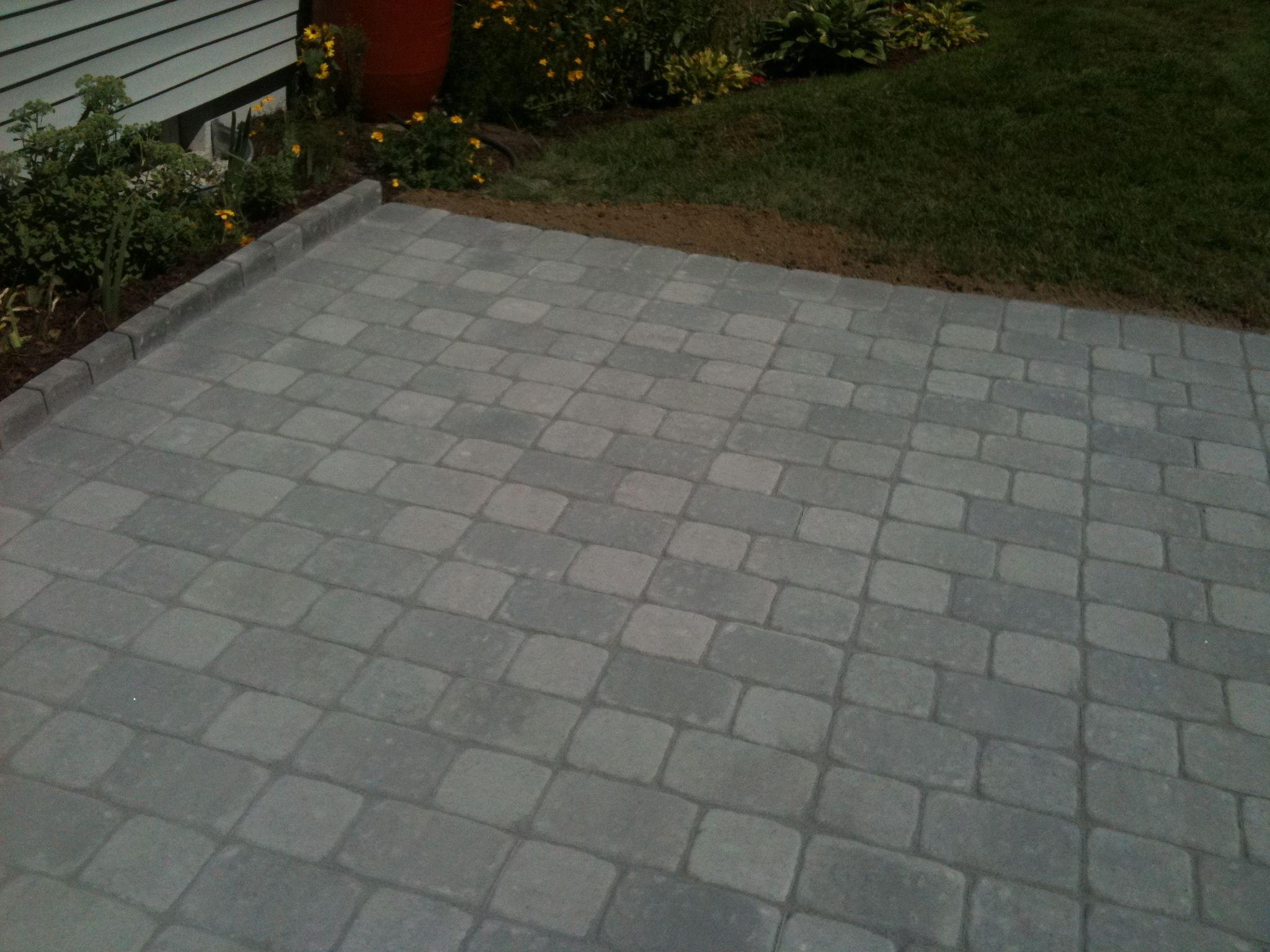 Unilock Camelot Patio In Granite Blend X X Pavers - Granite patio pavers
