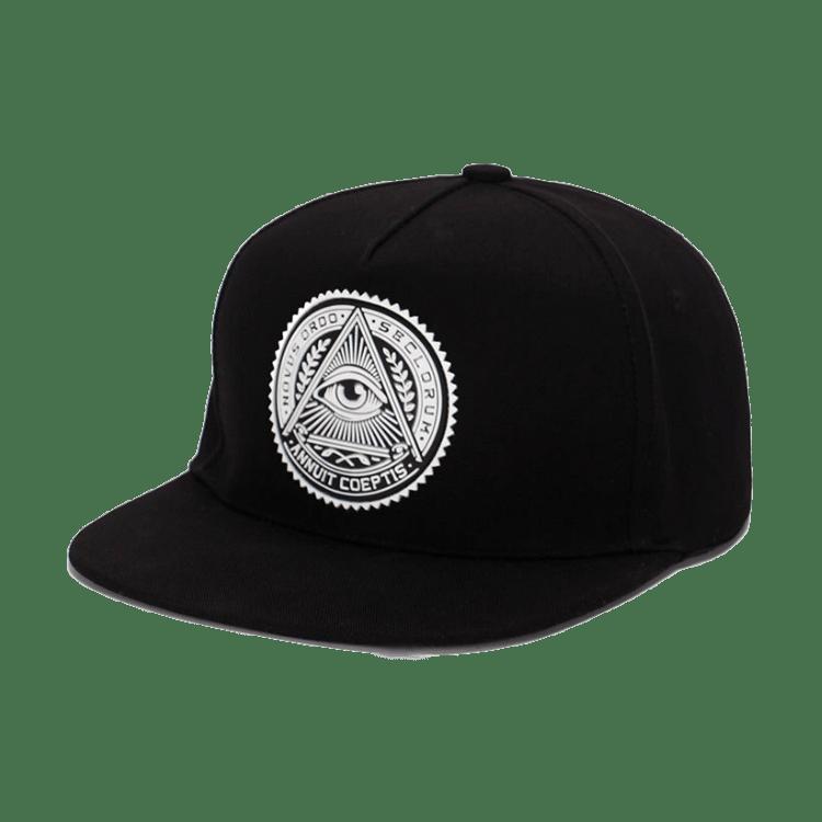 Annuit Coeptis Cap Snapback Hats Black Baseball Cap Snapback Cap